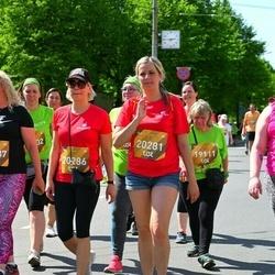 Tet Riga Marathon - Lidija Krastina (19111), Inese Kadiša (20281), Aija Eglīte (20286)