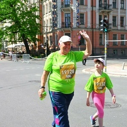 Tet Riga Marathon - Luda Kartasova (19128), Anastasija Semencova (19132)