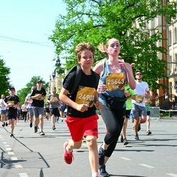 Tet Riga Marathon - Matīss Liepa (24903), Estere Kalniņa (25643)