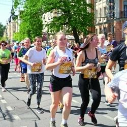 Tet Riga Marathon - Marina Balkova (21393), Eva Tālmane (23739), Kristiāna Stankuna (25536)