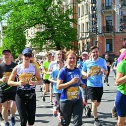 Tet Riga Marathon - Agnese Veldre (20853), Ivo Velde (26597)