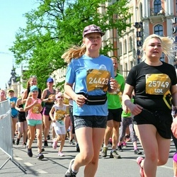 Tet Riga Marathon - Amanda Budze (24423), Santa Lempa (25749)
