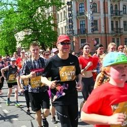 Tet Riga Marathon - Agris Bitāns (21477), Jānis Gobiņš (23676)