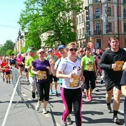 Tet Riga Marathon - Agnese Rozentāle (25521), Sarmīte Putanova (25636)