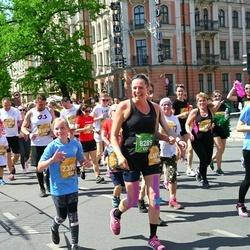 Tet Riga Marathon - Maija Milbrete (8289), Elza Melbārde (23700)