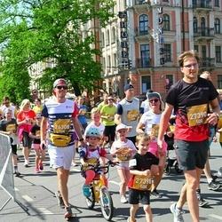Tet Riga Marathon - Toms Kalnītis (26308), Ainārs Liepa (27390), Rūdolfs Liepa (27398)