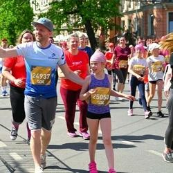 Tet Riga Marathon - Emīlija Keita Ābele (24937), Emma Vendele (25050)