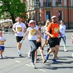 Tet Riga Marathon - Zane Veitnere (25005), Anna Helēna Kriķe (25021)