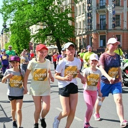Tet Riga Marathon - Marta Moora (24999), Laura Magone Pavilone (25034), Olivers Strazdiņš (25046), Amēlija Rodčenko (25048), Roosa Maria Kettunen (27917)