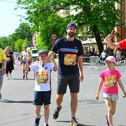 Tet Riga Marathon - Madara Skujiņa (24961), Dainis Grūbe (25010), Ernests Ritovs (25029)