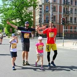 Tet Riga Marathon - Madara Skujiņa (24961), Reina Grūbe (25009), Dainis Grūbe (25010), Ernests Ritovs (25029)