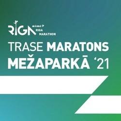 Trase Maratons Mežaparkā '21 - Demo Runner (1000)