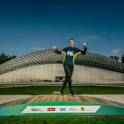 Trase Maratons Mežaparkā '21 - Vasilij Denisov (515)