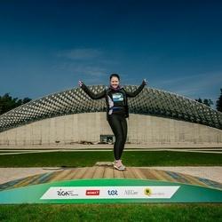Trase Maratons Mežaparkā '21 - Tatjana Potrubeiko (435)