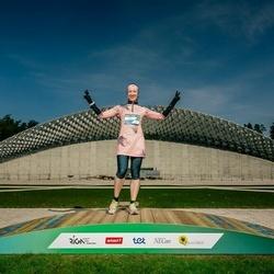 Trase Maratons Mežaparkā '21 - Alīna Fisenkova (278)