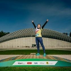 Trase Maratons Mežaparkā '21 - Olena Fomenki (516)