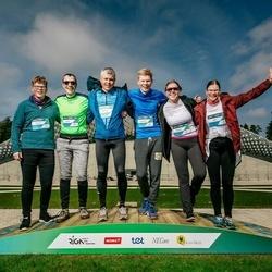 Trase Maratons Mežaparkā '21 - Krišjānis Lējējs (221), Katrīna Lējēja (222), Pēteris Lējējs (223), Ieva Lējēja (224), Artūrs Lējējs (225)