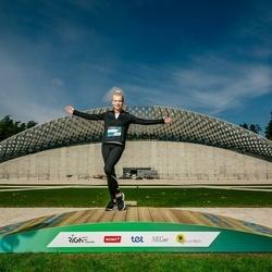 Trase Maratons Mežaparkā '21 - Linda Vilcāne (603)