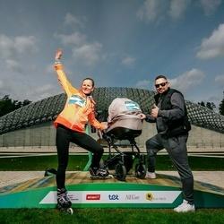 Trase Maratons Mežaparkā '21 - Evija Šulce (206), Ilze Zvīdriņa (297)