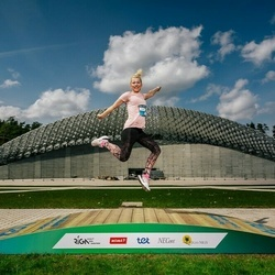 Trase Maratons Mežaparkā '21 - Kristīne Kronberga (218)