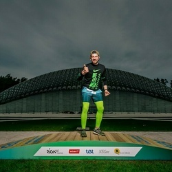 Trase Maratons Mežaparkā '21 - Agnis Kabineckis (689)