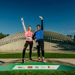 Trase Maratons Mežaparkā '21 - Inese Otomere (176), Gita Kolerte (595)