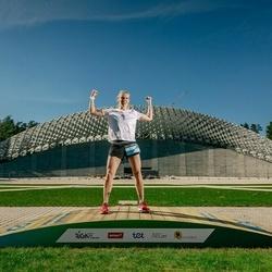 Trase Maratons Mežaparkā '21 - Evija Abiļeva (220)