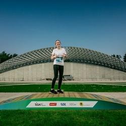 Trase Maratons Mežaparkā '21 - Laura Ziļeva (439)