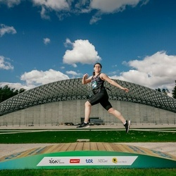 Trase Maratons Mežaparkā '21 - Jevgeņija Šļonska (344)