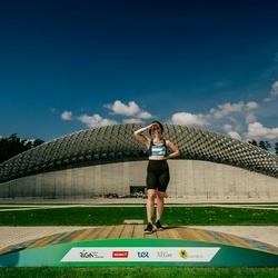Trase Maratons Mežaparkā '21 - Andrea Vītola (750)