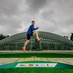 Trase Maratons Mežaparkā '21 - Nils Briedis (672)