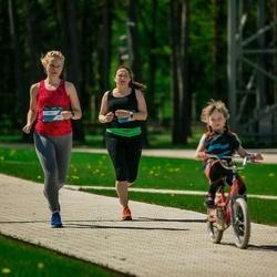 Trase Maratons Mežaparkā '21 - Dace Bavikina (306)