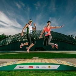 Trase Maratons Mežaparkā '21 - Ilona Zariņa (281), Inese Ozola (360)