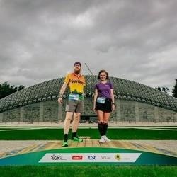 Trase Maratons Mežaparkā '21 - Kalvis Silgals (137), Daina Silgale (250)