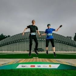 Trase Maratons Mežaparkā '21 - Karīna Smirnova (554), Daniels Smirnovs (705)