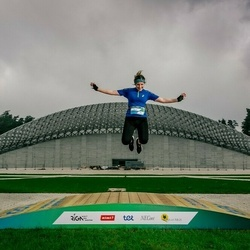 Trase Maratons Mežaparkā '21 - Karīna Smirnova (554)