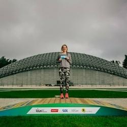 Trase Maratons Mežaparkā '21 - Linda Gulbe (808)