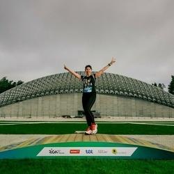 Trase Maratons Mežaparkā '21 - Elīna Tolokonceva (627)