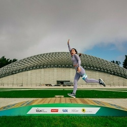 Trase Maratons Mežaparkā '21 - Svetlana Čursina (542)