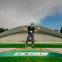 Trase Maratons Mežaparkā '21 - Daina Zamberga (633)