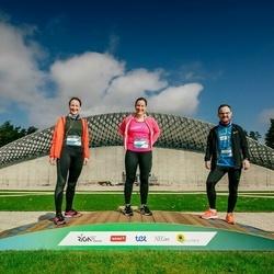 Trase Maratons Mežaparkā '21 - Alīna Sīle (466), Kristīne Sīle (468)