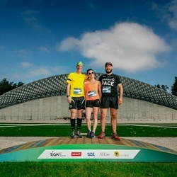 Trase Maratons Mežaparkā '21 - Gints Konošonoks (737), Iveta Kalēja (738), Juris Kukulis (780)