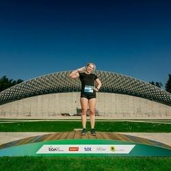 Trase Maratons Mežaparkā '21 - Kristīne Groma (215)