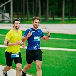 Trase Maratons Mežaparkā '21 - Konstantīns Zorins (838), Jānis Miezītis (850)