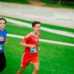Trase Maratons Mežaparkā '21 - Dmitrijs Čursins (540), Yaroslav Bondarev (618)