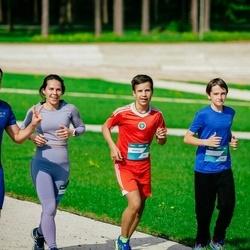 Trase Maratons Mežaparkā '21 - Konstantins Čursins (537), Dmitrijs Čursins (540), Yaroslav Bondarev (618)