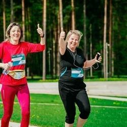 Trase Maratons Mežaparkā '21 - Ginta Sprede (731), Inese Zeltiņa (733)