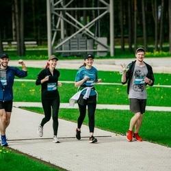 Trase Maratons Mežaparkā '21 - Vladislavs Tokarevs (751), Polina Saveljeva (752), Nataļja Salaka (753)