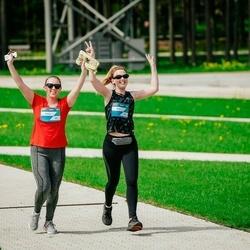 Trase Maratons Mežaparkā '21 - Alise Lāce (381), Sallija Kraukle (383)
