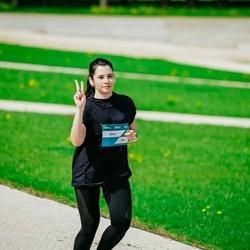 Trase Maratons Mežaparkā '21 - Anna Pozdnakova (264)